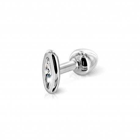 FORM OVAL SILVER
